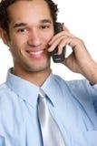 Phone Businessman Royalty Free Stock Photos