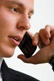 Phone businessman Royalty Free Stock Photo