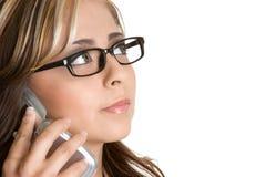 Phone Businesswoman Stock Image