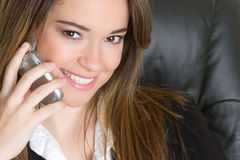 Phone Businesswoman Stock Photos