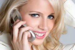 Phone Businesswoman Royalty Free Stock Image