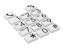 Phone buttons Royalty Free Stock Images
