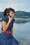 Phone call Royalty Free Stock Photography