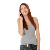 Phone call Royalty Free Stock Photo