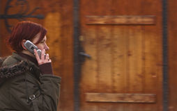 Phone call Stock Photos
