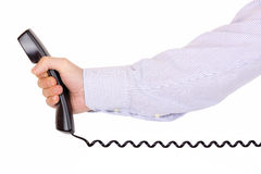 Phone call for you Royalty Free Stock Photography