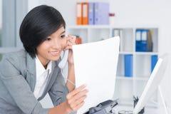 Phone calling Stock Photos