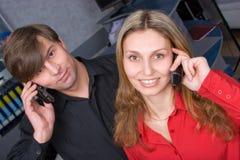 Phone calls getting cheap Stock Photo