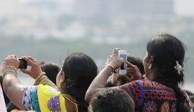 Phone camera Stock Photo