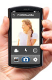Phone camera Royalty Free Stock Photos