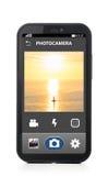 Phone camera Stock Image