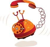 Phone. Cartoon Stock Photography