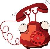 Phone.Cartoon Royalty Free Stock Photo