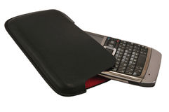 Phone in case royalty free stock photo