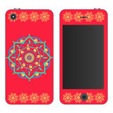 Phone case. Vector background. Stock Photography