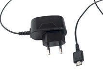 Phone Charger Stock Image