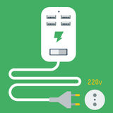 Phone Charging Icon Royalty Free Stock Image