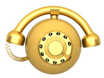 Phone circular Royalty Free Stock Image