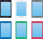 Phone Colors Royalty Free Stock Photography