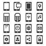 Phone and Communication Icon Set. Vector Stock Photos