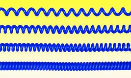 Phone cord Stock Photography