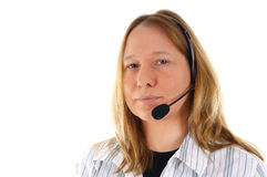 Phone counseling Stock Images