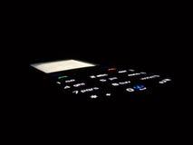Phone in dark. Mobil phone in dark with light keypad Stock Photo