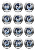 Phone dial pad Royalty Free Stock Photography