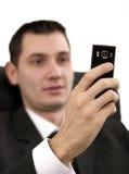 Phone dialing Royalty Free Stock Photos