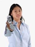 phone dig Royaltyfri Fotografi