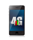 Phone 4g connection. illustration design. Over a white background Royalty Free Stock Photography