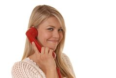 Phone Girl Three Royalty Free Stock Photography