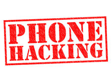 PHONE HACKING Stock Images