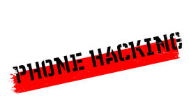 Phone Hacking rubber stamp Royalty Free Stock Image