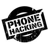 Phone Hacking rubber stamp Royalty Free Stock Photography