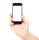 Phone in hand Royalty Free Stock Photo