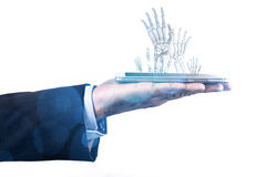 Phone And Hands Royalty Free Stock Photo