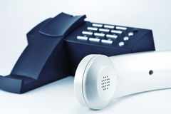 Phone and handset Royalty Free Stock Photography