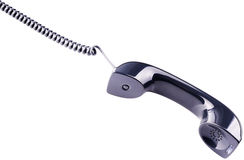 Phone handset isolated Royalty Free Stock Image