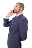 On the phone Royalty Free Stock Photo