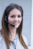 Phone headset professional Stock Photo