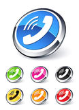 Phone icon Stock Photography
