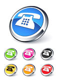 Phone icon Stock Photos