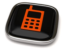 Phone Icon Royalty Free Stock Photo