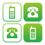 Phone icon Royalty Free Stock Image