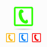 Phone icon. isolated on white background. Trendy flat style for graphic design, logos, website, social media, UI, mobile application Royalty Free Stock Image