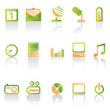 Phone icon performance icons Royalty Free Stock Images
