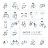 Phone icon se Stock Photos