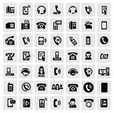 Phone icons Royalty Free Stock Photo