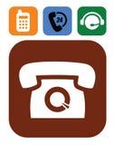 Phone icons Stock Photos